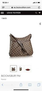 Louis Vuitton Bloomsbury purse