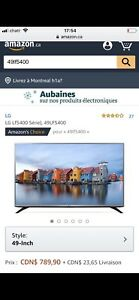 tv lg 49''fullHD49LF5400 comme neuf