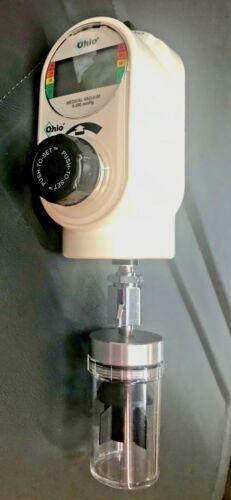 OHIO PUSH-TO-SET 1351 INTERMITTENT VACUUM REGULATOR W/ DIGITAL GAUGE