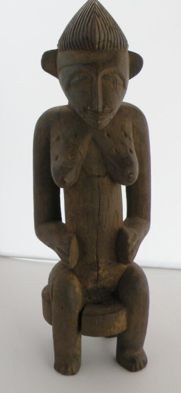 Vintage, carved wood African Tribal Senufo Cote D