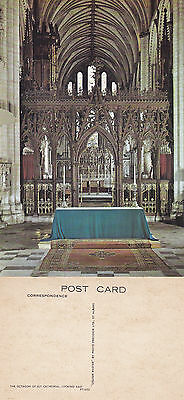1980's THE OCTAGON ELY CATHEDRAL ELY CAMBRIDGESHIRE UNUSED COLOUR POSTCARD