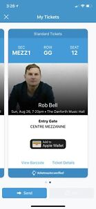 Two tickets for Rob Bell & Peter Rollins in Toronto