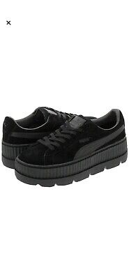 Puma x Fenty Black Flatform Creeper Trainers UK5.5