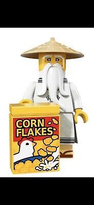 LEGO MASTER WU NINJAGO MOVIE MINIFIGURE SERIES 71019 BRAND NEW #4 ORIGINAL PACK
