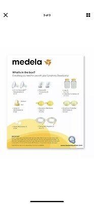 Medela Symphony Double Pumping Kit, # 67099