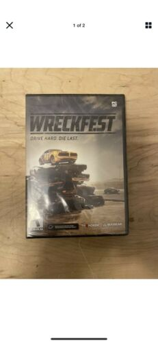 Computer Games - Wreckfest: Drive Hard. Die Last. (PC DVD ROM Computer Game)New Sealed Free Ship