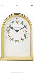 Howard Miller Songbirds of North America III Table Clock 645-405- Musical Chimes