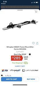 Whisper bike carrier