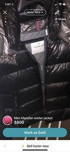 Montcler winter jacket