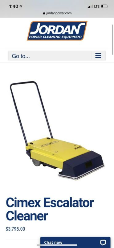 Cimex X46 Escalator & Travelator Cleaner
