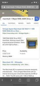 Vintage Apple Macintosh