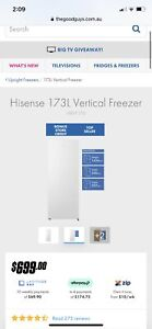 Hisense upright Freezer
