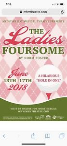 The ladies foursome—musical theatre