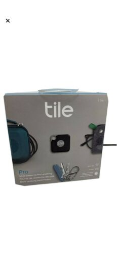 Tile Pro Item Tracker With Replaceable Battery Black - RT-15