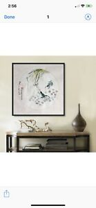 Chinese ink painting, watercolor, home decoration, wall art