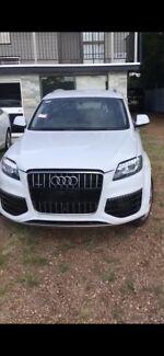 Audi Q7 2015 3L TDI Sline wrecking  63000km