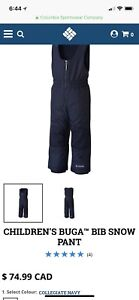 New - Columbia Snow pants (sz 4)