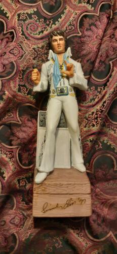 Elvis Bourbon Music Box Bottle Decanter, McCORMICK, Vintage, Rare. Large One.