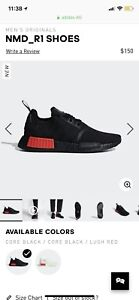**** adidas NMD R1 BRAND NEW!!! Size 8.5 US