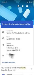 The wizard's brunch