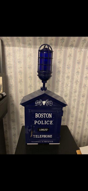 Gamewell 1920's Boston Police Call Box. Restored