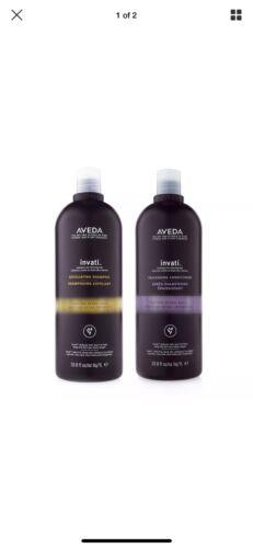Aveda Invati Exfoliating Shampoo & Conditioner 33.8oz Dual S