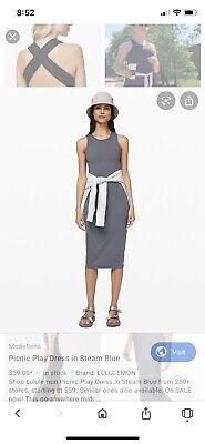 Lululemon Picnic Play Dress Size 8
