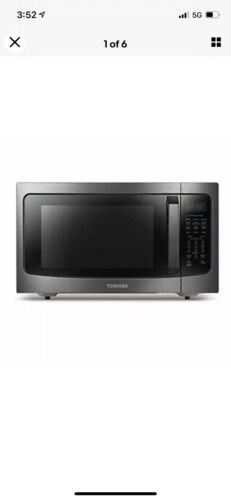 Toshiba ML-EC42P Microwave Oven with Healthy Air Fry, BRAND