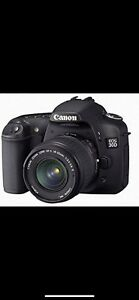 Canon EOS 30D SLR camera. Condition 10/10 with box charger