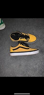 Vans X North Face — Size 4 —— Hardly Worn So Amazing Condition—— Yellow