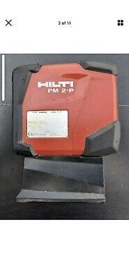 Hilti Pm 2-p - 2 Point Laser Level Self-leveling Laser Level - Used Slightly