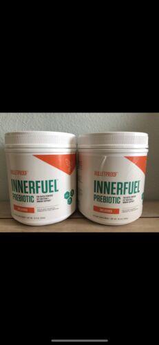2 bullet proof innerFuel prebiotic digestive health immune support 9/20