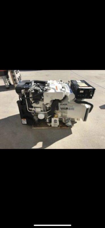 Kohler 5E  5 kW Marine Gas Generator Genset 60 Hz