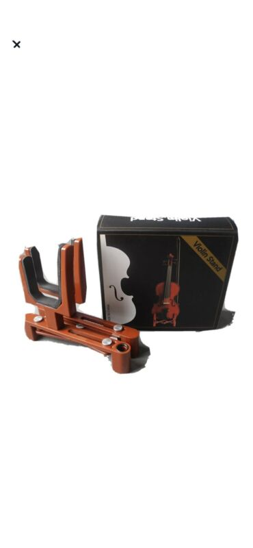 Foldable violin, viola stand lightweight durable with bow holder ~FREE SHIPPING~