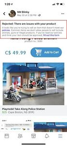 Play Mobil police station Toy