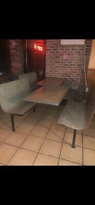 Restaurant Seating Booth Tables