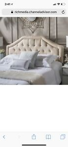 Beautiful Queen Tufted Headboard
