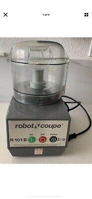 Robot Coupe R101b Combination Food Processor 2.5-liter Bowl Polycarbonate
