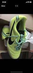 NIKE TIEMPO NATURAL IV LTR SOCCER SHOES size 10