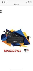 Mag box 322w and Iptv service we install at ur roor