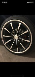 22INCH RIMS FOR BMW, LAND ROVER, MDX, TESLA, VOLKSWAGEN, LEXUS,