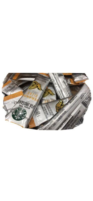 Starbucks VIA Veranda blend Instant Coffee - 50 Individual Packets 04/20