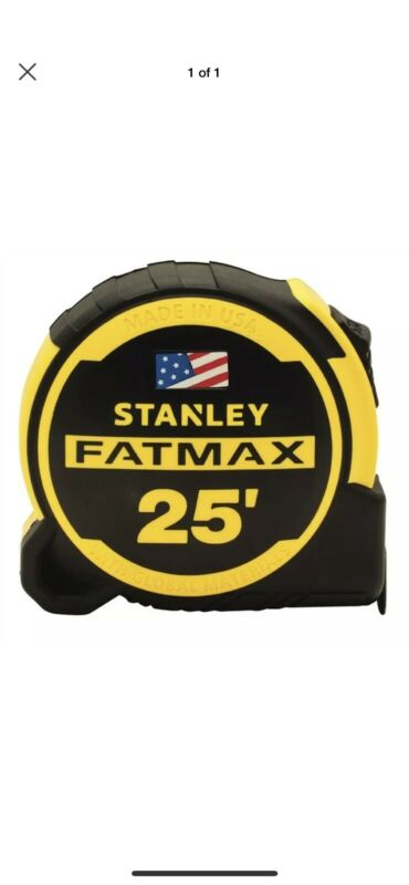 NEW  Stanley FMHT36325S FATMAX Compact Tape Measure, Yellow & Black 4564183