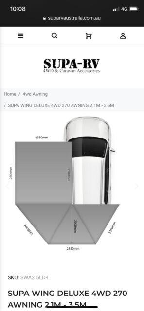 Supa-wing 270 degree awning | Caravan & Campervan ...