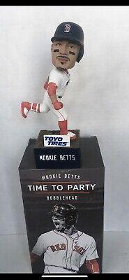 2019 MOOKIE BETTS Boston Red Sox SGA Bobblehead Time To PARTY Bobble Head Fenway - Boston Red