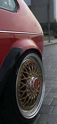 """Bbs Rs Staggered 16"""" FACE MOUNTED VW BMW AUDI PORSCHE 5x100 4x100 5x114"""