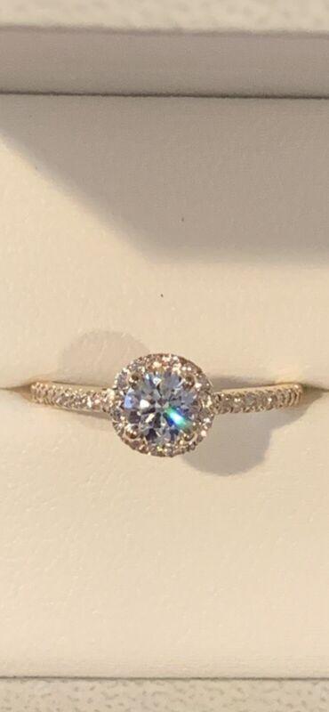 Blue Nile Astor Round Halo Diamond Engagement Ring