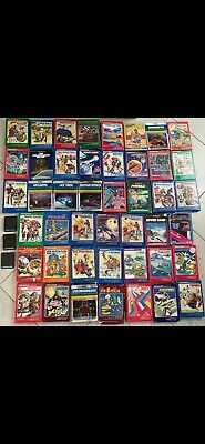 Intellivision Video Games - 48 Game Bundle - with manual/overlays
