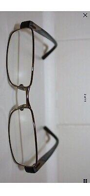 VERSACE MOD 1121 1061 Glossy Brown & Rose Gold Prescription Eyeglasses