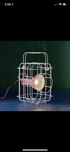 Vintage style caged light